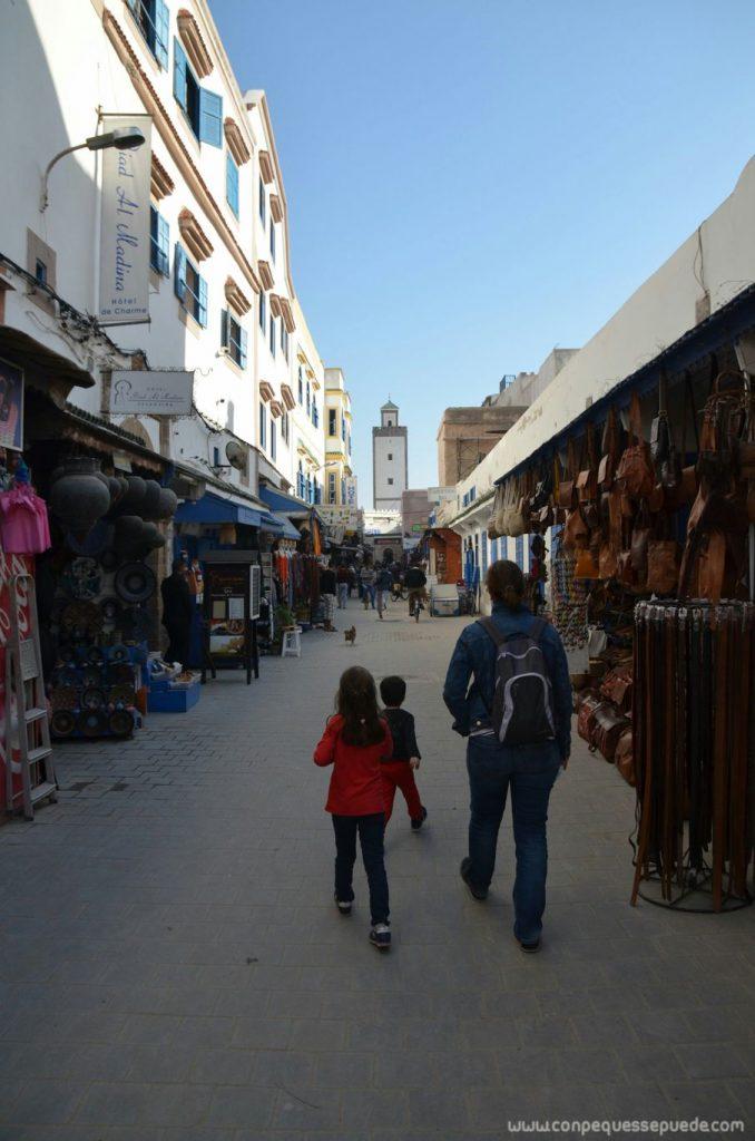 Excursión por el zoco de Essaouira