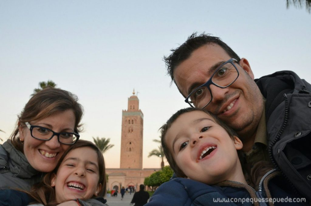 La familia en Marrakech
