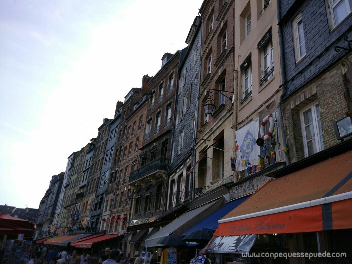 Las casas de colores de Honfleur