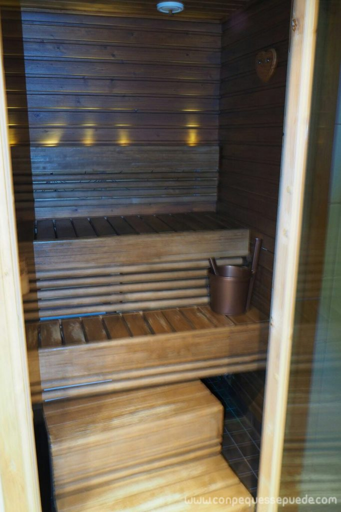 Sauna de la cabaña