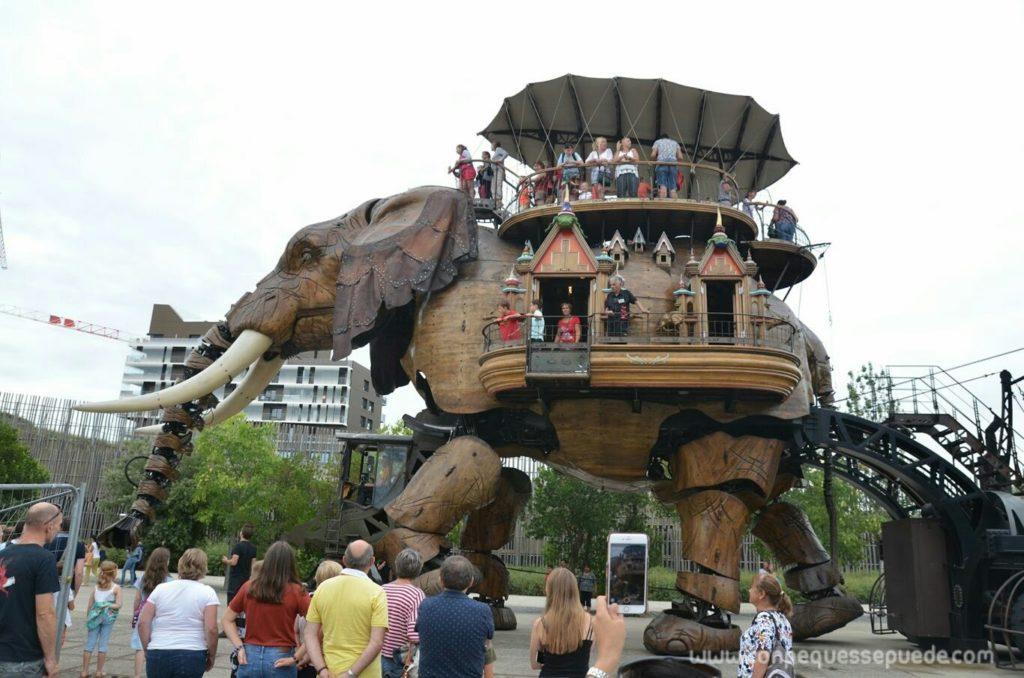 El elefante de l'Ile des machines