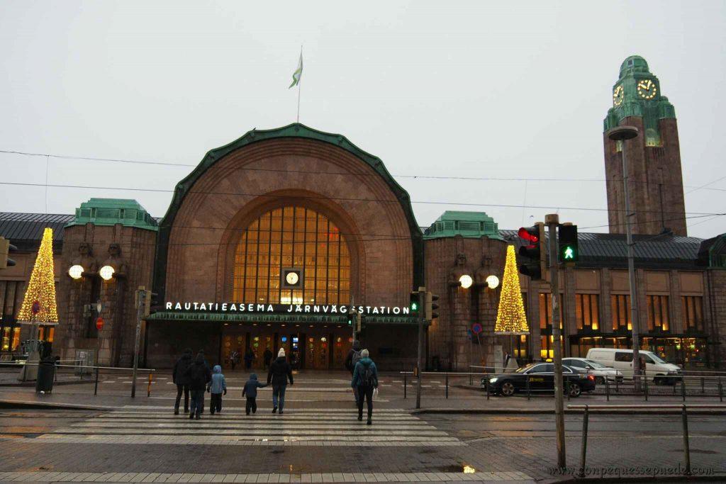 La estación central de Helsinki